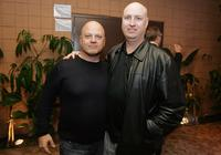 Michael Chiklis and Shawn Ryan at