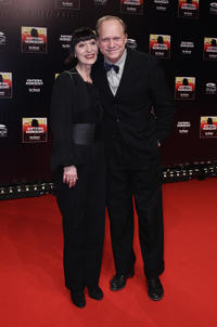 Katharina John and Ulrich Tukur at the musical premiere of