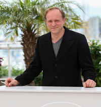 Ulrich Tukur at the White Ribbon photocall during the 62nd International Cannes Film Festival in France.
