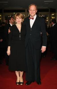 Dagmar Menzel and Ulrich Tukur at the premiere of