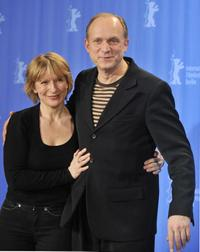Dagmar Manzel and Ulrich Tukur at the photocall of