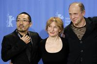 Teruyuki Kagawa, Dagmar Manzel and Ulrich Tukur at the photocall of