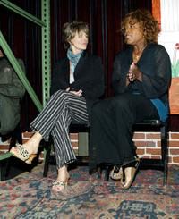 Julie Christie and Alfre Woodard at the Lysistrata Project a worldwide theatre event for peace.