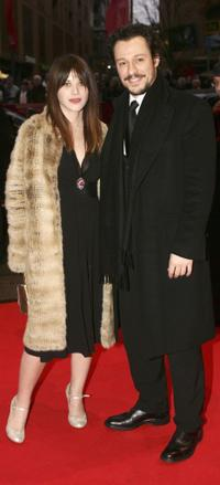Valentina Cervi and Stephano Accorsi at the premiere of