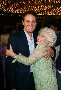 Jason Clarke and Fionnula Flanagan at the premiere of