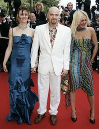 Clovis Cornillac and Guests at the premiere of