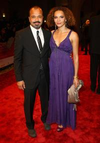 Jeffrey Wright and Carmen Ejogo at the Opening Night Gala of the 5th Annual Dubai International Film Festival.