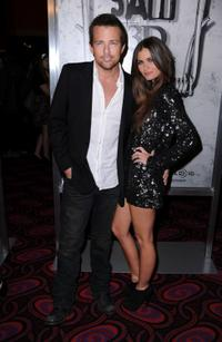 Sean Patrick Flanery and Lauren Michelle Hill at the Los Angeles screening of