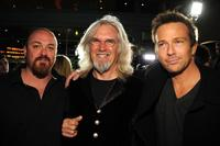Troy Duffy, Billy Connolly and Sean Patrick Flanery at the premiere of