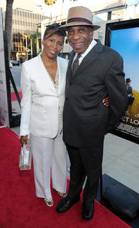 Carolyn and Bill Cobbs at the California premiere of