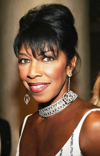 Natalie Cole at the cocktail reception for the 16th Carousel of Hope presented by Mercedes-Benz.