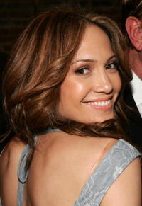 Jennifer Lopez at the Sweetface Fall 2006 Fashion Presentation in New York.