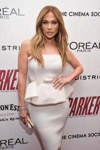 Jennifer Lopez at the New York premiere of