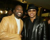 LL cool J and Gary Hardwick at the premiere of