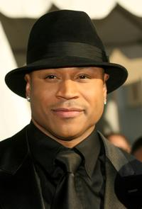 LL Cool J at the 38th annual NAACP Image Awards.