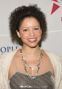 Gloria Reuben at the People For the American Way