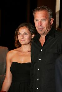 Kevin Costner and his daughter Amy at the special screening of