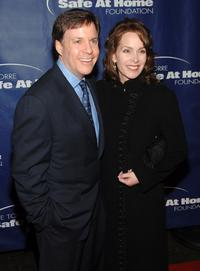 Bob Costas and Jill Costas at the Joe Torre's Safe at Home 5th Annual Gala.
