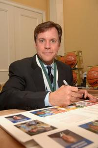 Bob Costas at the Great Sports Legends Dinner.