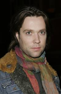 Rufus Wainwright at the Adidas Y-3 Autumn / Winter 2006 Collection show.