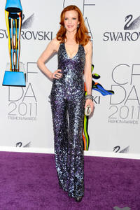 Marcia Cross at the 2011 CFDA Fashion Awards in New York.