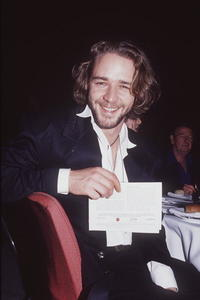 Russell Crowe at the 1993 Aria Awards.