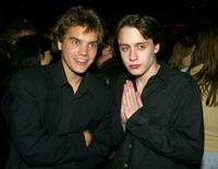Kieran Culkin and Emile Hirsch at the premiere of