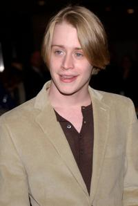 Macaulay Culkin at the after party for