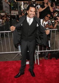 Actor Manny Perez at the N.Y. premiere of