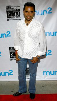 Manny Perez at the screening of
