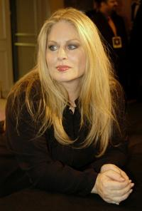 Beverly D'Angelo at the black-tie Annual event.