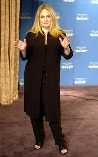 Beverly D'Angelo at the New York Friars Club Roast.