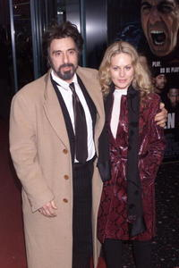 Beverly D'Angelo and Al Pacino at the London premiere of