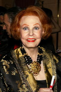 Arlene Dahl at the launch party for Shanghai.