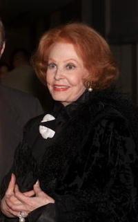 Arlene Dahl at the New York for the opening night party of