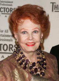Arlene Dahl at the Actors Fund of America annual gala.