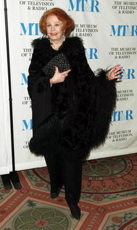 Arlene Dahl at the Museum of Television and Radio gala honoring of Merv Griffin.