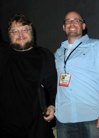Guillermo del Toro and Troy Nixey at the Miramax Film's