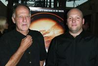 Director Werner Herzog and Zak Penn at the premiere of