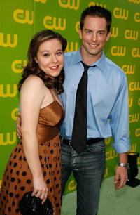 Tina Majorino and Michael Muhney at the CW Launch Party.