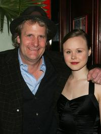 Jeff Daniels and Alison Pill at the opening night of the Broadway play Blackbird.