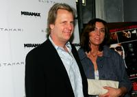 Jeff Daniels and his wife Kathleen Treado at the Miramax & Elie Tahari Host Screening Of