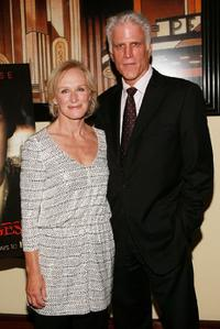 Ted Danson and Glenn Close at the premiere after party for the new FX television series