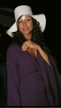 Stacey Dash at the Joseph's.