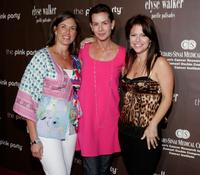 Embeth Davidtz, Dr. Beth Karlan and Elyse Walker at the Pink Party to benefit Cedars-Sinai Women's Cancer Research Institute.
