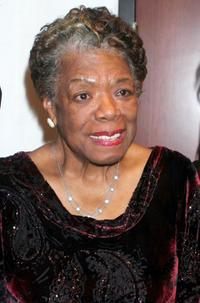 Maya Angelou at the Women In Film and Hallmark Channel Reception.