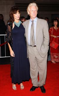 Bruce Davison and guest at the opening night of