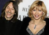 Jean-Hugues Anglade and German Veronica Ferres the premiere of the movie