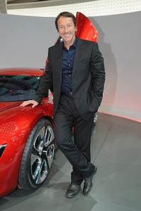 Jean-Hugues Anglade at the Renault presentation of the Cannes Film Festival Official Car