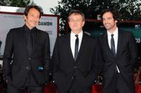 Jean-Hugues Anglade, Patrice Chereau and Romain Duris at the premiere of
